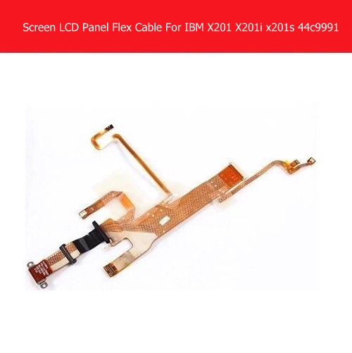 Genuine LCD Panel Flex Cable For IBM Lenovo X201 X201i Series 44C9990 44C9991 LCD Display flex cable Laptop notebook replacement  new led flex video cable for ibm lenovo x201 x201i series 44c9990 44c9991