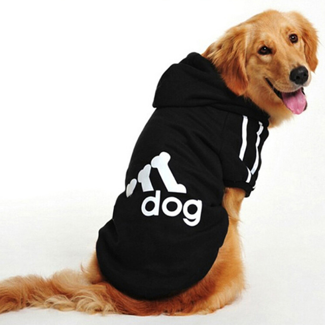 Donbook Large Size Dog Clothes for Big Dogs Golden Retriever Winter Pet Hoodie Sportswear 2XL-9XL 3