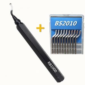 Image 1 - مقبض ألمونيوم معدني جهاز تشذيب عالي الجودة ، مقبض حديد ، لقط سريع ، مقبض إزالة الحواف ، مقبض معدني للتزيين RB1000