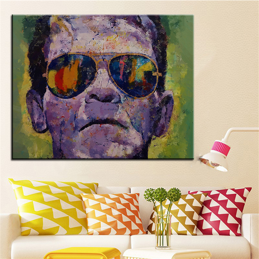Large size Printing Oil Painting hasta la vista Wall painting Home  Decorative Wall Art Picture ForCompare Prices on Vista Painting  Online Shopping Buy Low Price  . Cost To Paint A Large Living Room. Home Design Ideas
