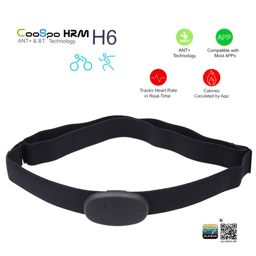 Coospo H6 Ant Bt V4.0 Drahtlose Sport Heart Rate Monitor Smart Sensor Brustgurt Für 5 S 6 7 8 Plus X Ipad Wahoo Fitness Fitcare Eine Hohe Bewunderung Gewinnen