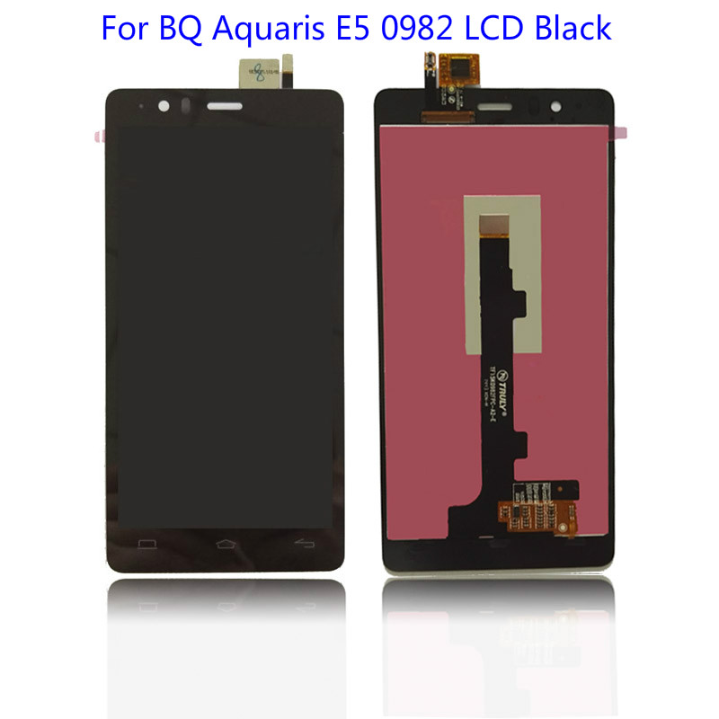 LCD Display Touch Screen Digitizer Assembly For BQ Aquaris E5 0982 Lcd Black