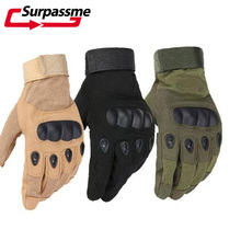 Breathable Full Finger Motorcycle Gloves Leather Racing Motocross Biker Motorbike Moto Outdoor Sports Military Tactical Women
