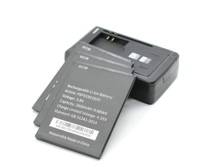 Seasonye 3x 2600mAh / 9.88Wh PSP5530 DUO Replacement Li ion Battery + Universal Charger For Prestigio PSP5530 DUO PSP 5530 DUO