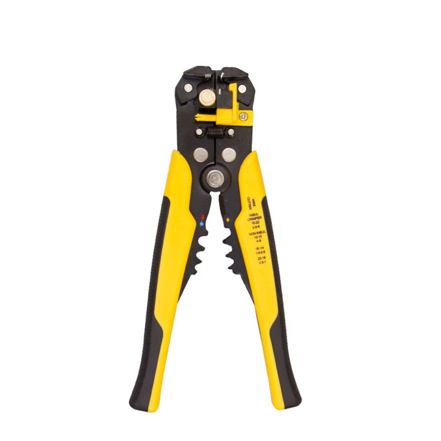 Cable Cutter Wire Stripper Pliers Wire Cutters Cutter Multifunctional Wire Stripper Cable Trimming Cutting Pliers Peeling Suede