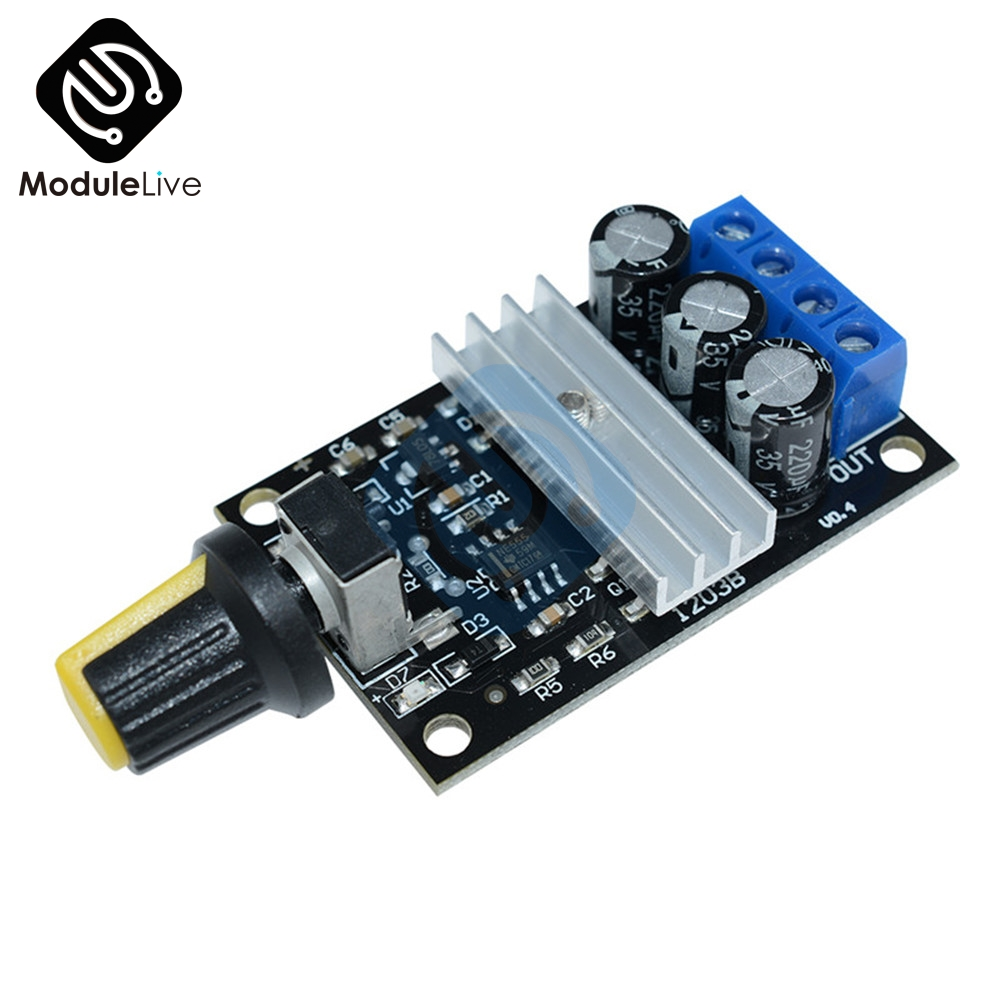 DC 6V 12V 24V 28V DC 3A 80W PWM Motor Speed Controller Regulator Adjustable Variable Speed Control With Potentiometer Switch warp s plast o mat shelf liner ribbed 12 w x 20ft l non adhesive clear