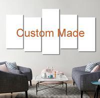 Индивидуальные принты, живопись индивидуальный заказ холст фоторамка 5 Панель модульная Home Decor Прямая доставка