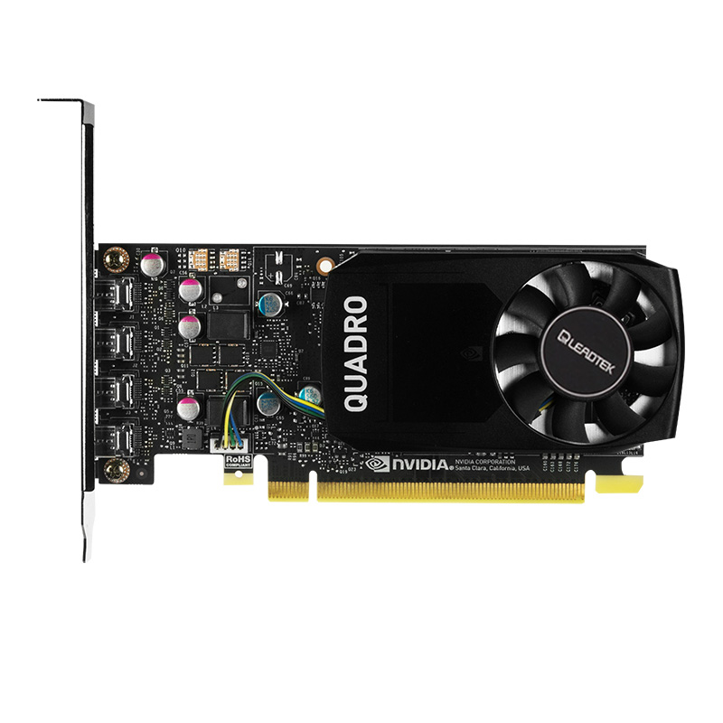 Leadtek Quadro P600 2GB Professional Graphic Design Workstation Graphics Card Supports 5K Three-Year Warranty