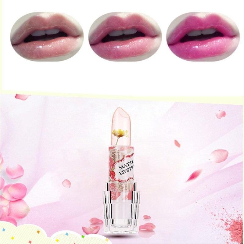 Lipstick Gentle 1pcs Brand Makeup Lipgloss Pink Baby Lips Nude Lipstick Matte Cosmetics Waterproof Jelly Lips Balm Moisturizering Lip Care Zkh03