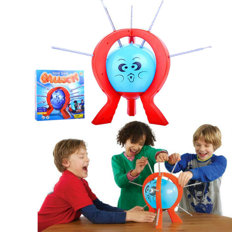 games Crazy Party game Funny toy popular Boom Boom Balloon Board Game for kids t3184b educational toy coin slide chip game toy playing toy set