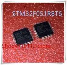 NEW 10PCS/LOT STM32F051R8T6 STM32F051 R8T6 LQFP-64 IC