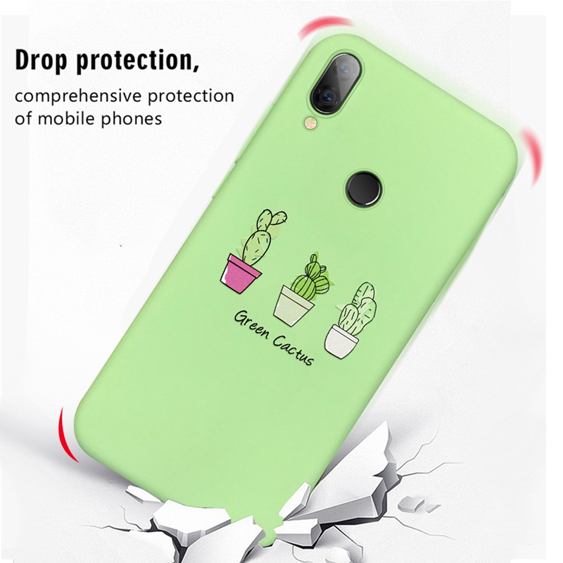 Colorful Cases And Soft Silicone Cover Phone Shells For Xiaomi Redmi Mobile Phones