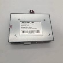 Interface de vídeo do carro para fiat tipo após 2017 u-connect 7 polegada exibir suporte dois av e uma entrada de câmera traseira