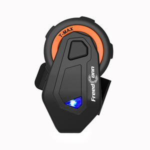 Image 4 - T Max Motorfiets Bluetooth Helm Intercom Headset Groep Talk Systeem 1000M Bluetooth 4.1 6 Riders Bt Interphone + fm Radio
