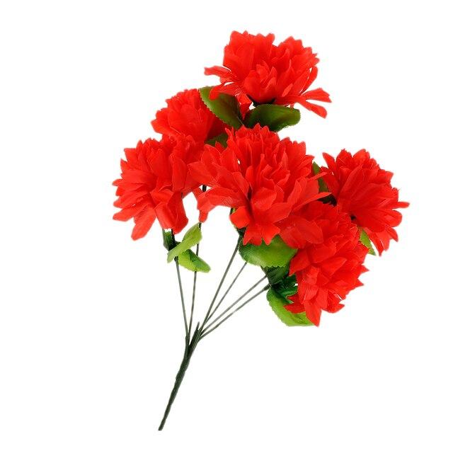 Töpfe Künstliche Seide Blumenstrauß Anordnung In Grab Denkmal