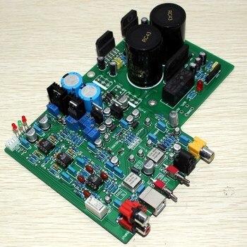 DAC 1955 decoder + LM3886 amplifier board ( fiber coaxial USB decoding )