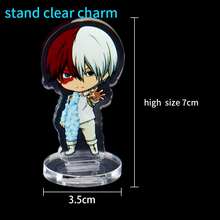 1pc Custom Clear Charm 7cm Anime Victor Nikiforov Boyang Acrylic Stand Holder With Any Design