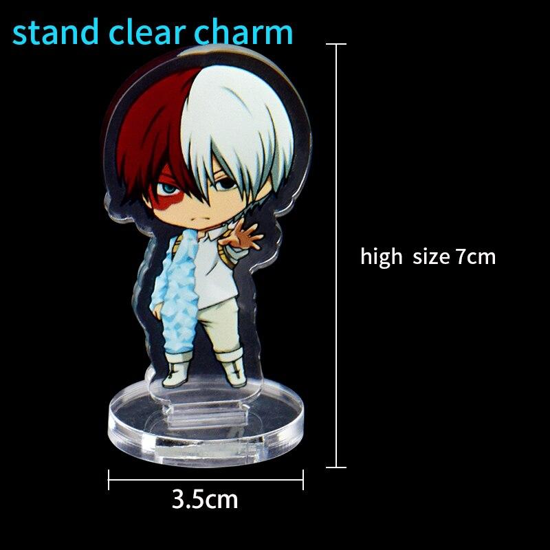 1pc Personalizado Limpar Charme 7 centímetros Anime Victor  Nikiforov Boyang Acrílico Stand Titular Com Todo o ProjetoAcessórios e  crachás