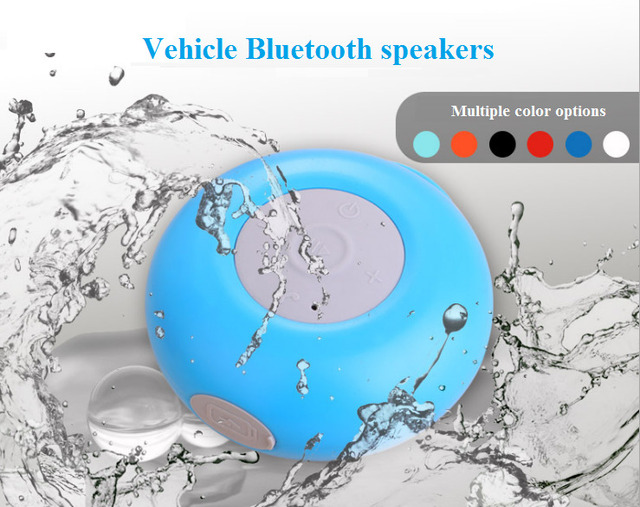 Car Motorcycle Wireless Mini Bluetooth Speaker Outdoor Portable   Waterproof  Small Subwoofer MP3 Hands-free Call Car-styling