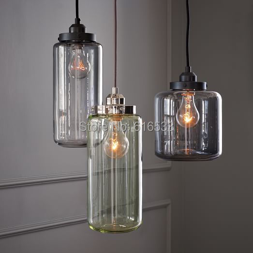 buy vintage loft industrial american lustre glass jar edison pendant lamp. Black Bedroom Furniture Sets. Home Design Ideas