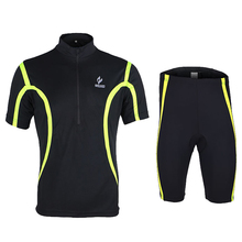 Hot Sale Men's Short Sleeve Comfortable Bicicleta Cycling Jersey Set Breathable Sportswear Cycle Shirts For Outdoor Sports