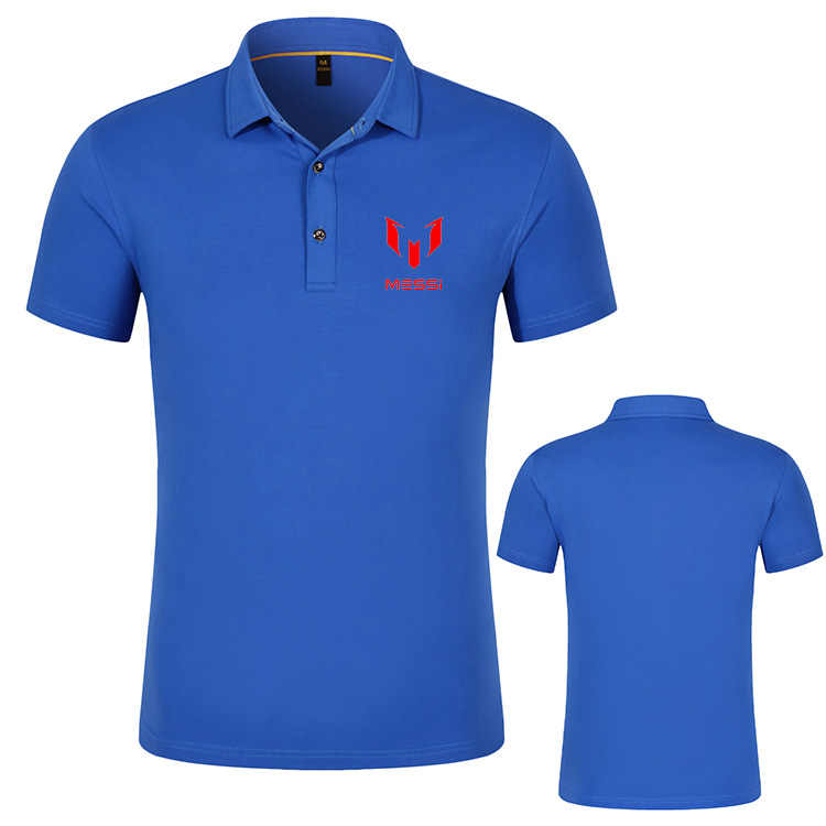 c8b377c06fb ... Brand New Men Polo Shirts Lionel Messi Argentina Barcelona Spain Mens  Casual 2019 Summer Luxury Masculina