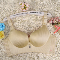 Hot Selling One-piece plus size bra Wire Free push up Lace sexy Seamless women's underwear  90D 95D 100D 105DThin breathable br