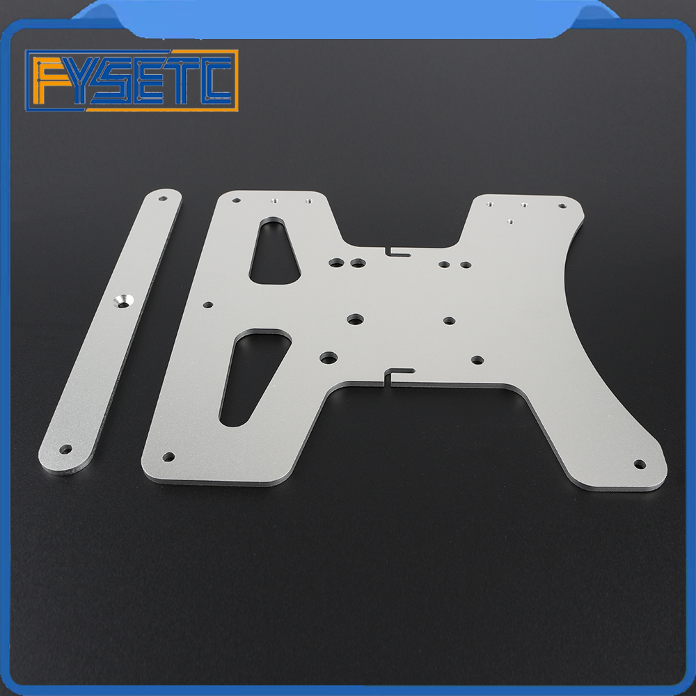 Image 3 - Cloned Aluminum Y Carriage Plate Kit Heated Bed Supports 3 Point Leveling For Creality Ender 3 Ender 3 Pro Ender 3S 3D Printer-in 3D Printer Parts & Accessories from Computer & Office