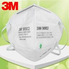 10pcs 3M 9002 Mask Anti dust-masksPM 2.5mask Anti influenza non woven fabric folding filter mask Adult KN90  safety masks