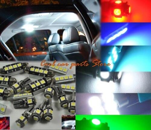 17x Error Free Premium White Interior LED Light Package Bulbs Lamp Accessories