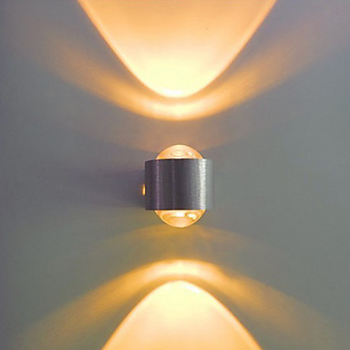 2W Aluminum Led Wall lamp Light Bulb Included