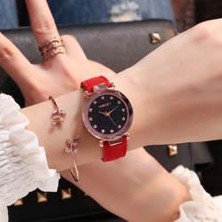 Люксовый бренд wecin Женские повседневные водонепроницаемые часы женские часы модные трендовые Стразы Девушка кварцевые наручные часы
