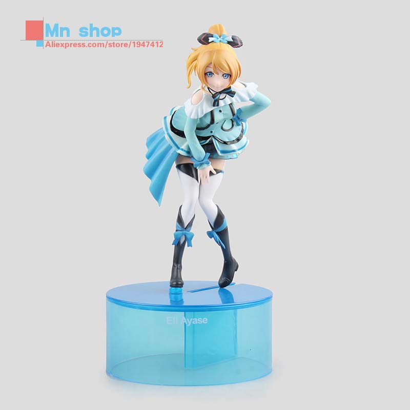 ФОТО Free Shipping Japan Anime Love Live 23cm Ayase Eli Model PVC Action Figure Doll Model Toys Brinquedos Collection