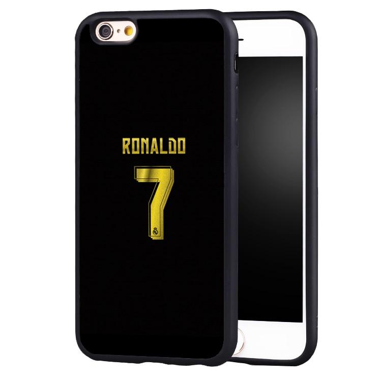cr7 ronaldo soccer golden NO.7 case cover for iphone X 8 7 plus 6 6splus 5 5s SE