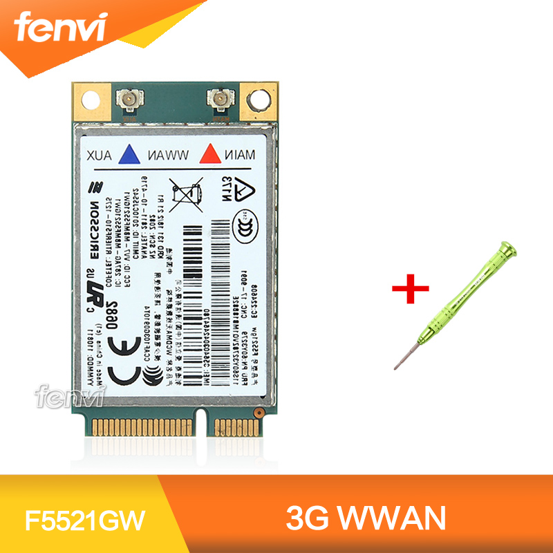 Unlocked For Ericsson F5521GW Wireless 3G WWAN WCDMA HSPA GSM GPRS Mobile Broadband Fit Lenovo T420 T520 W520 X220 E520 W520 X1