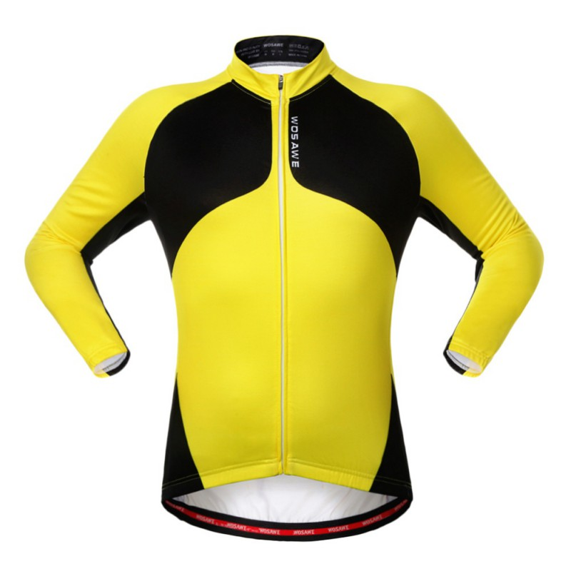 Cycling Fleece Thermal Long Jerseys Winter Jacket Windproof Bicycle Coat Outdoor Bike Jerseys Cycling Clothing Coat Jacket S 2XL