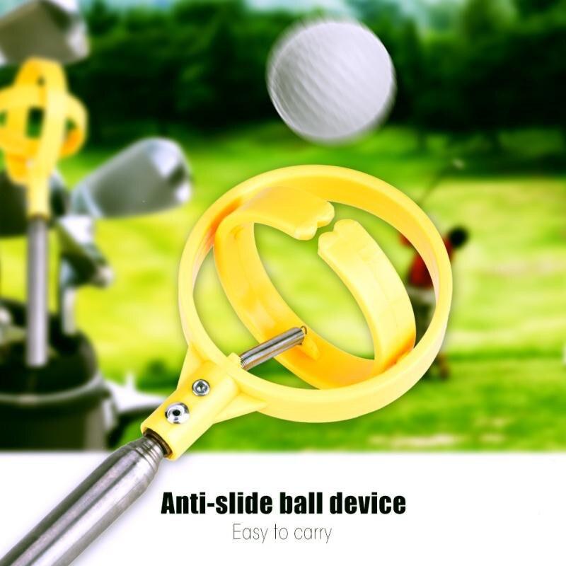 Outdoor Sports Corrosion Resistant Colourfast Anti-slip Telescopic Golf Ball Catcher