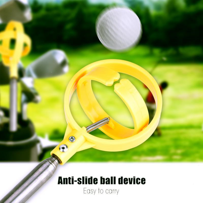 Outdoor Sports Corrosion Resistant Colourfast Anti-slip Telescopic Golf Ball Catcher