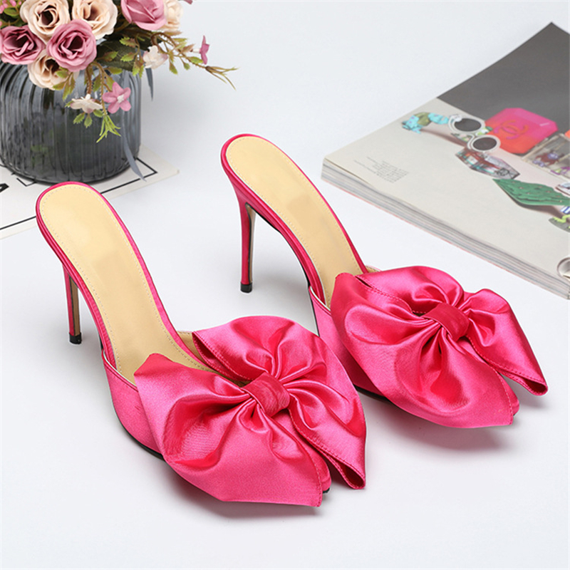 Luxury_Satin_Big_Butterfly_knot_Slippers_Women_10cm_Thin_High_Heels_Pointed_Toe_New_Spring_2019 (2)