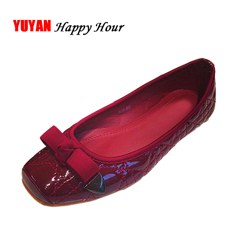 Spring And Autumn Flats Women Fashion Young Ladies Flat ...