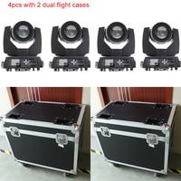 4x с 2 двойной прочные багажные контейнеры Шарпи луч 230 7r свет dj оборудования перемещение головного света