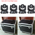 4x met 2 dual flight cases sharpy beam 230 7r licht dj apparatuur moving head licht