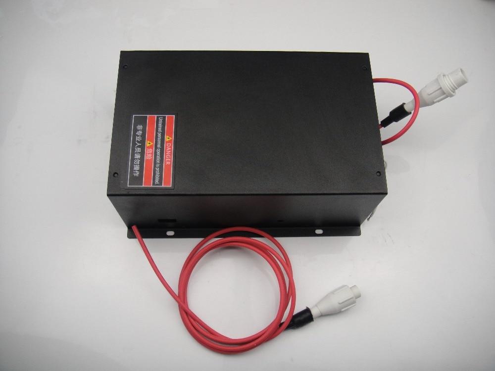 130 W AC110V CO2 lazerio energijos tiekimas 130 W CO2 lazerio vamzdeliui