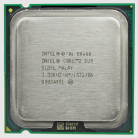 INTEL Core 2 Duo E8600 CPU Processor 3 3Ghz 6M 1333GHz Socket 775