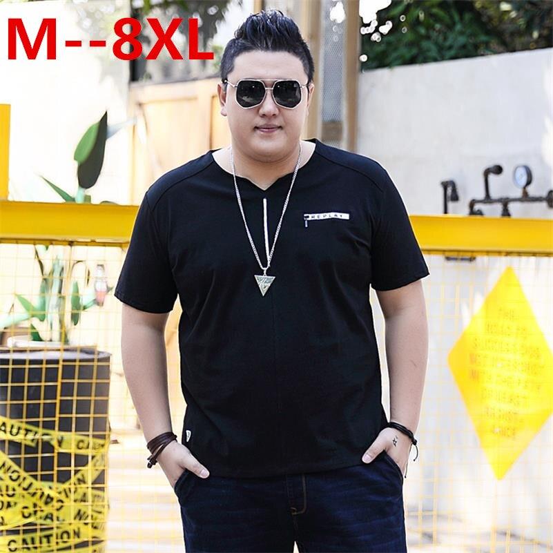 Grande taille 10XL 9XL 8XL 6XL 5XL 4X hommes t-shirt environnement coton chanvre décontracté slim solide t-shirts plus jeunes mince et à manches courtes
