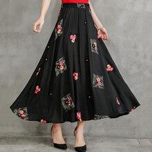 3f61bcabe Compra embroidered long skirt y disfruta del envío gratuito en ...