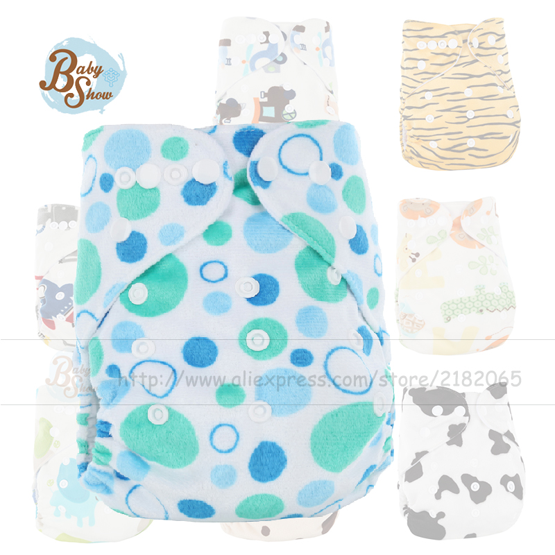 Wholesale Reusable 10Pcs/Bag Baby Cloth Diaper Merries Insert Fralda Nappy Liner Baby Wizard Washable Diaper Pants Free Shipping