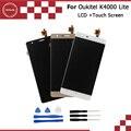 Oukitel K4000 lite Pantalla LCD y Montaje de la Pantalla Táctil de Reparación Parte 5.0 pulgadas Accesorios Móviles Para Oukitel K4000 lite + herramientas