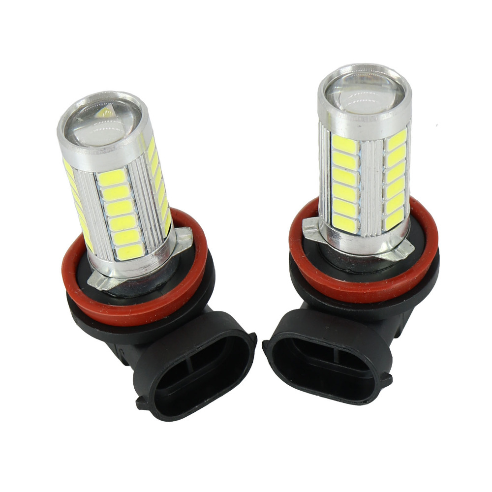 2Pcs LED Light Bulb For Skoda Octavia A7 Sedan Octavia A7 Combi 2013 2014 2015 2016 2017 LED Fog Light Fog Lamp Bulbs