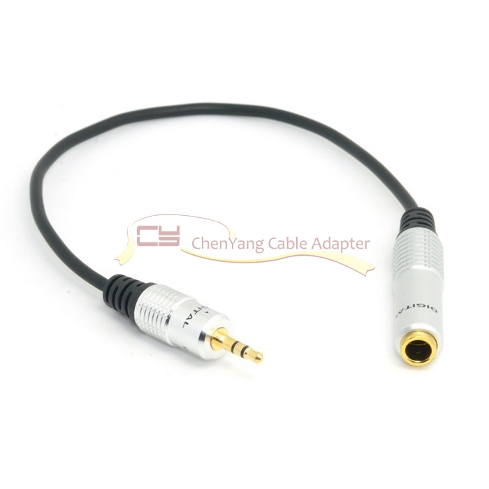 1pcs/Audio Aux 6.35mm 1/4